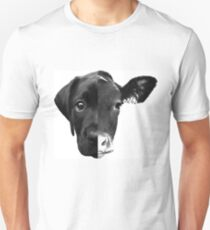 Speciesism Cow Dog Split Face Unisex T-Shirt