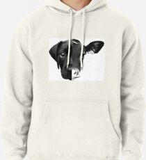 Speciesism Cow Dog Split Face Pullover Hoodie
