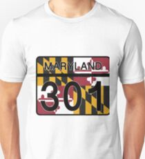 Maryland Route 301 T-Shirt