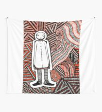 Dead Red Wall Tapestry
