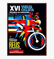 VUELTA CICLISTA; VintageBicycle Racing Advertising Print Photographic Print