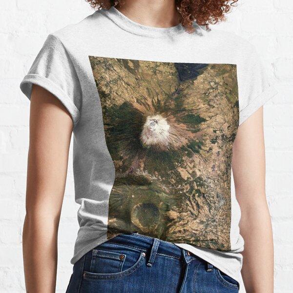 San Miguel Volcano El Salvador Satellite Image Classic T-Shirt