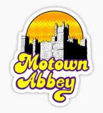 Motown Abbey Sticker