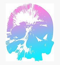 CANDIED HYPER-SKULL IN SUBSPACE Photographic Print