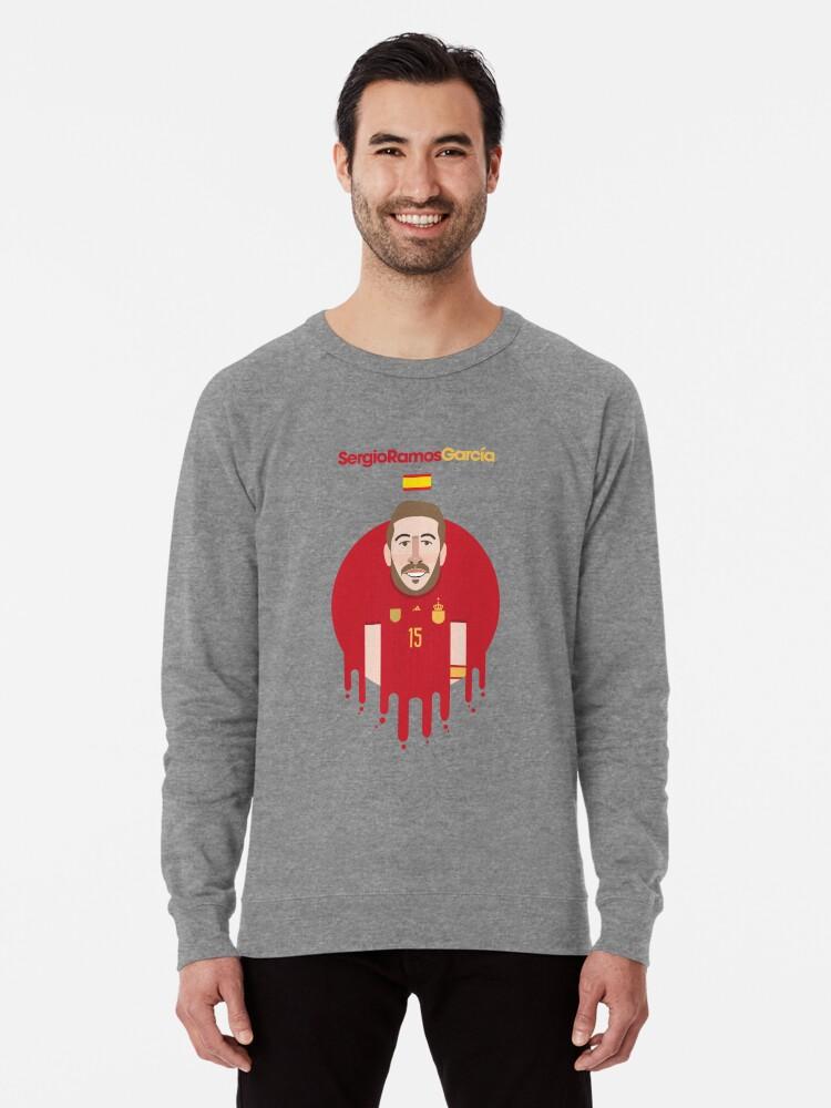 promo code 3b1c1 3bbfb 'Sergio Ramos - Spain' Lightweight Sweatshirt by Gary Ralphs