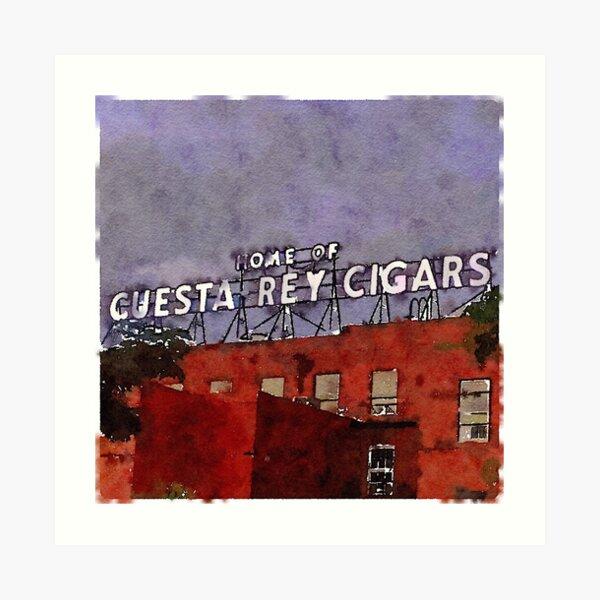 Ybor City Cigars Art Print