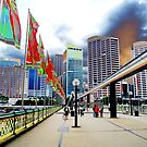 Pyrmont Bridge swings, in more ways than one by TonyCrehan