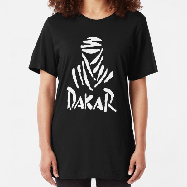 Camiseta Cross y Enduro Modelo Dakar Roja Talla L