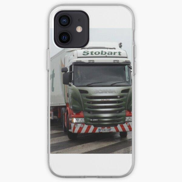 Stobart Lorry iPhone Soft Case