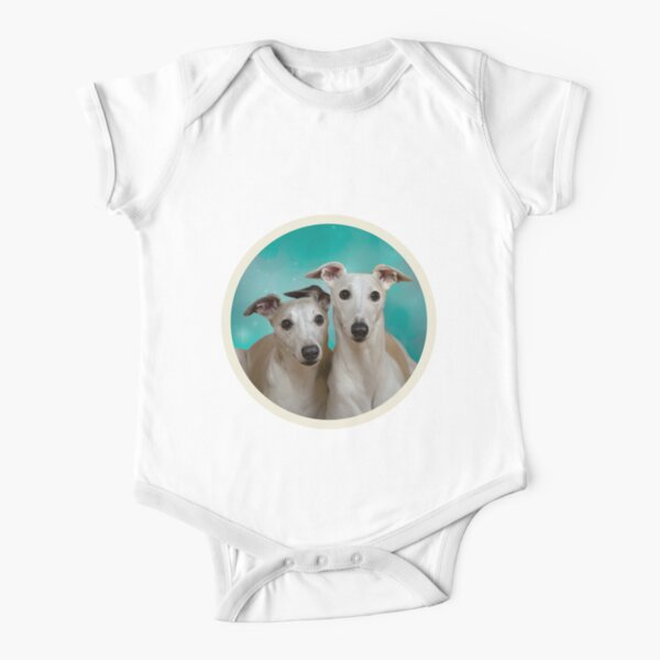 Baby Girls Short Sleeve Jumper Bodysuit Greyhound Dog Mom-1 Toddler Clothes