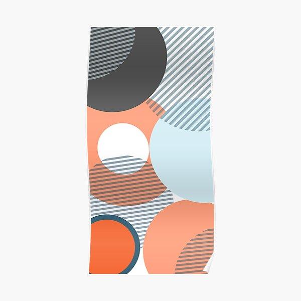 Geo Circle Design  Poster