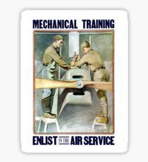 Enlist In The Air Service -- WW1 Sticker