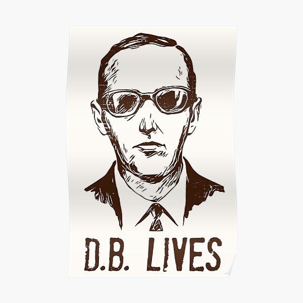DB Cooper Lives Poster