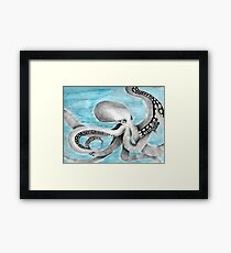 Solitude in the Deep Framed Print