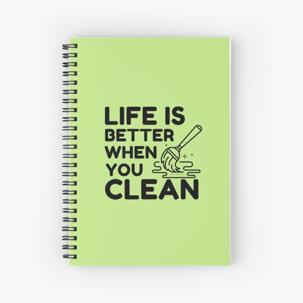 Copy of Team Cleaner Spiral Notebook