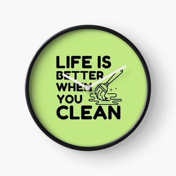 Copy of Team Cleaner Clock