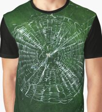 Spider Web with Spider, painting Graphic T-Shirt