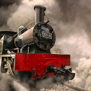 Steam Engine by Charuhas