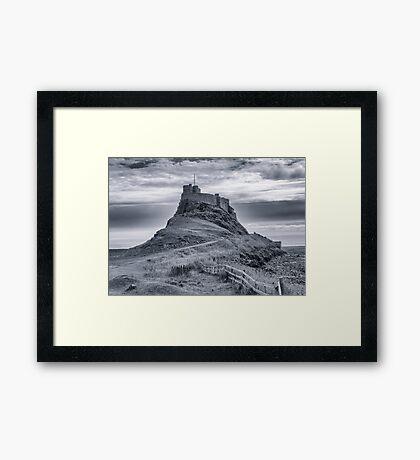 The Castle  Holy Island Framed Print