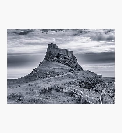 The Castle  Holy Island Photographic Print