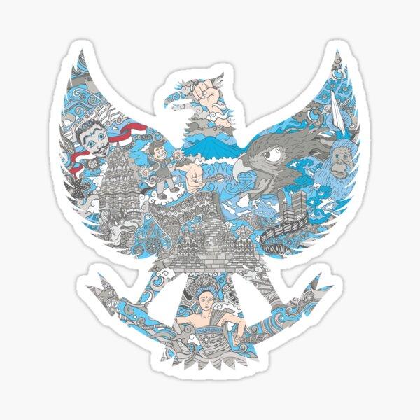 Indonesia Garuda Sticker
