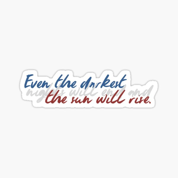will you join in our crusade? Sticker