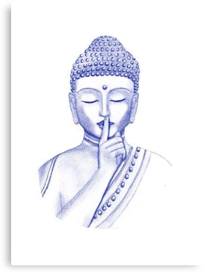 Shh ... do not disturb - Buddha  by rainbowflowers