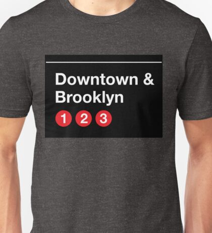 Downtown & Brooklyn Unisex T-Shirt