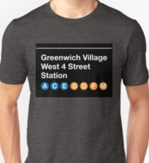 Greenwich Village Station T-Shirt