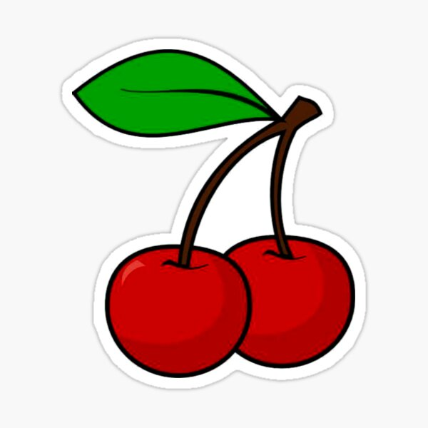 Cherry anim. Sticker