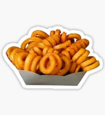 curly fries! Sticker