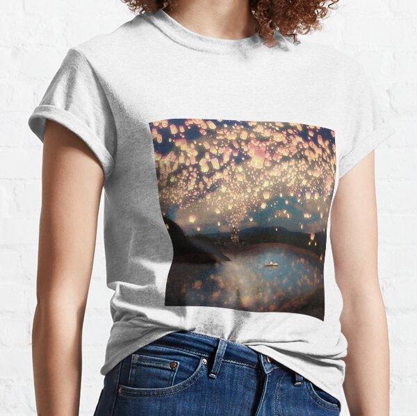 Love Wish Lanterns Classic T-Shirt