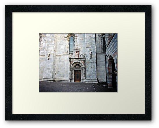 Church Door in Como by Studio8107