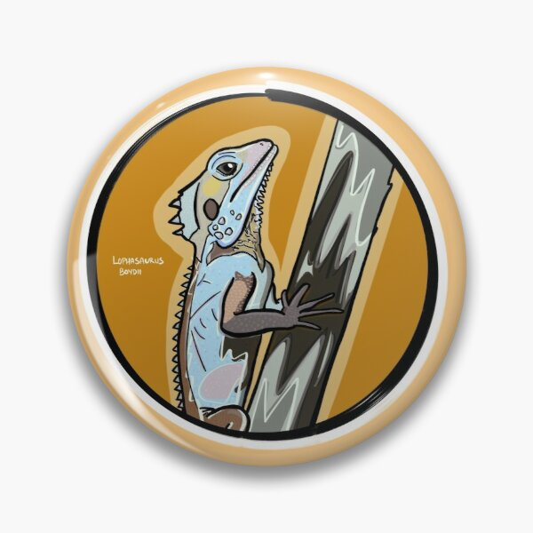 Boyd's Forest Dragon (Lophosaurus boydii) Pin