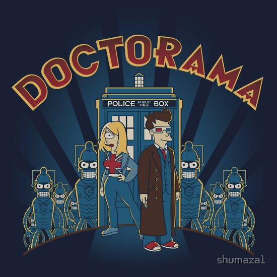 TShirtGifter presents: Doctorama | Unisex T-Shirt