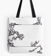 Lines like Vines Tote Bag
