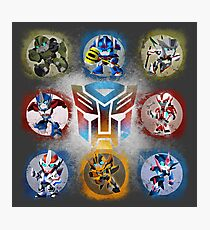 Autobots Prime- Collection Photographic Print
