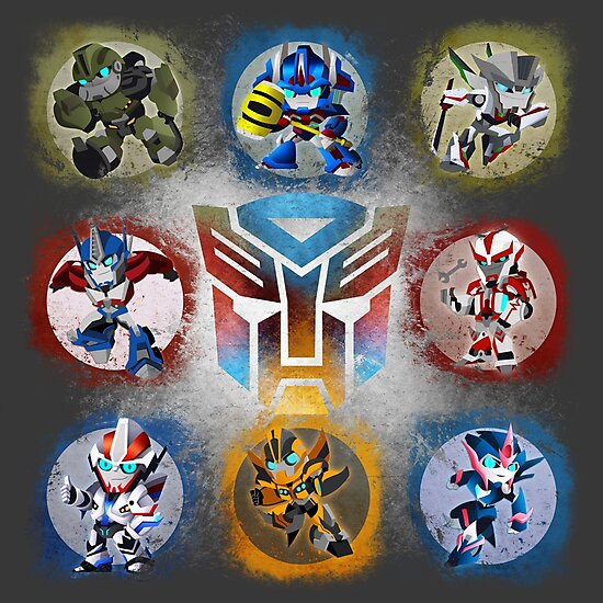 Autobots Prime- Collection by Sombrabones