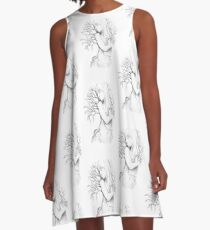 Growing Strong A-Line Dress