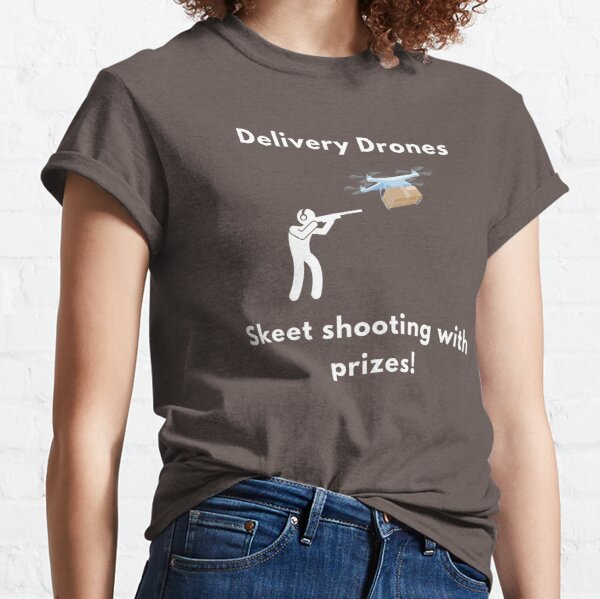 DroneBae - Skeet shooting drones, Perfect Drone Gift for Drone Pilot Classic T-Shirt
