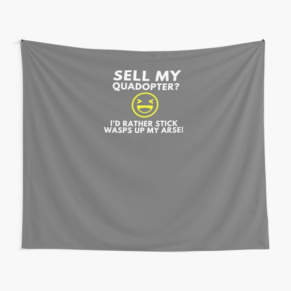 DroneBae - Sell my Quadcopter, Perfect Drone Gift for Drone Pilot Tapestry