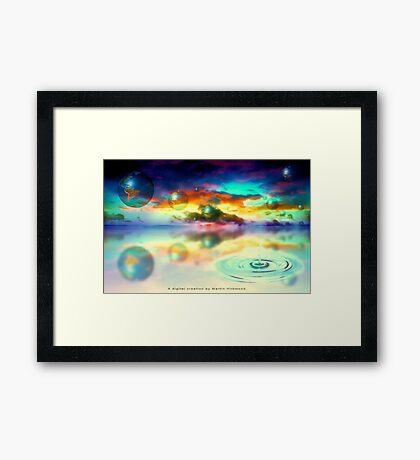 """Drip"" Framed Print"