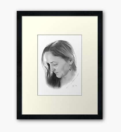 """Martha"" Framed Print"
