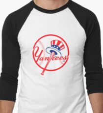 NY Yankees Men's Baseball ¾ T-Shirt