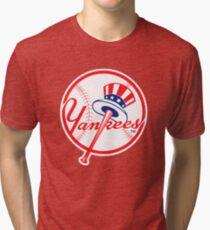 NY Yankees Tri-blend T-Shirt