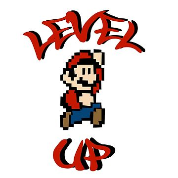 Level Up: Mario by maephly