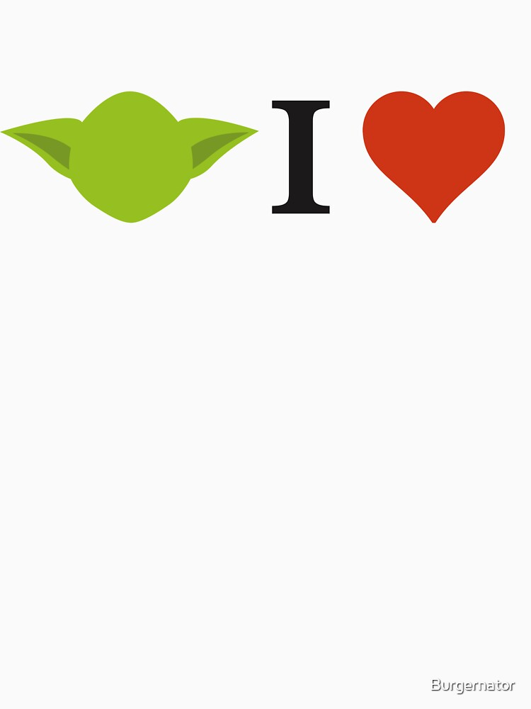 TShirtGifter presents: Yoda I Love | Unisex T-Shirt