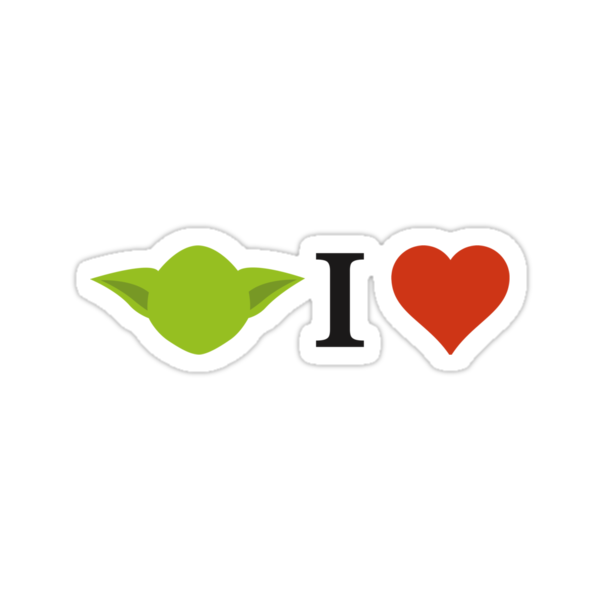 Yoda I Love by Burgernator