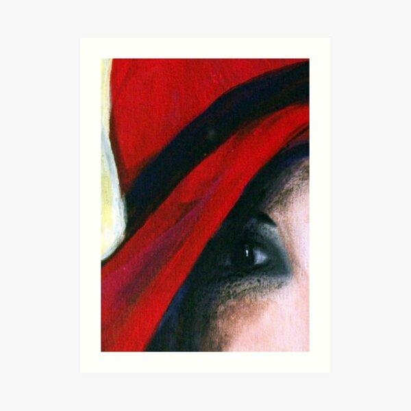 """""""Her Eye....Her Soul"""" Art Print"""