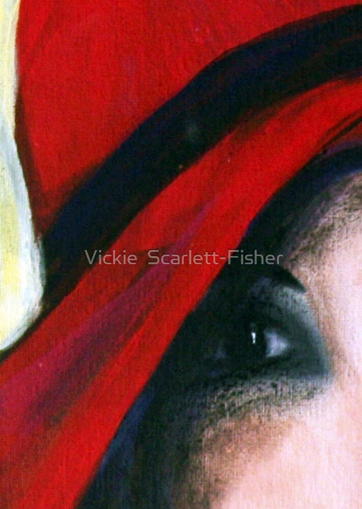 """Her Eye....Her Soul"" by Vickie  Scarlett-Fisher"